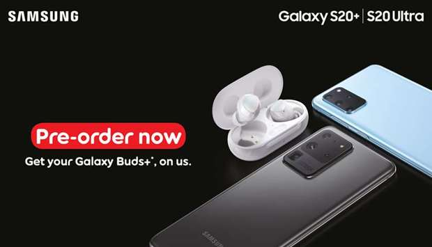 The all-new Samsung Galaxy S20 will be available to pre-order online.