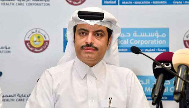 Director of Public Health at the Ministry of Public Health Sheikh Dr. Mohammed Bin Hamad Al-Thani