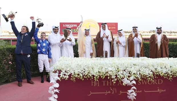 Amir Crowns Winners of 32nd Equestrian Festival