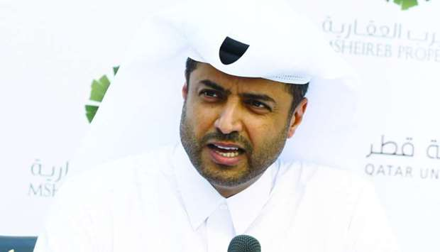 Mohamed Essa al-Boainain, acting chief officer - Design and Delivery at Msheireb Properties.