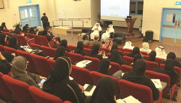 The CCQ event explored topics such as the 'History and Influence of Radio in Qatar', 'Broadcasting a