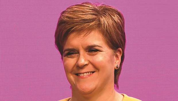 I am the best person to lead SNP: Sturgeon