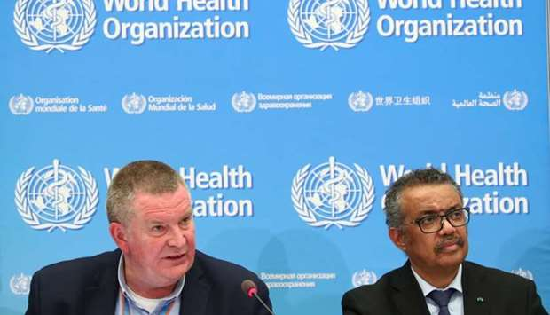 Michael J. Ryan, Executive Director of the WHO Health Emergencies Programme and Director-General of