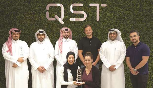 QST recently won the 'Most Innovative Company' award at the 2019 Qatar Business Awards ceremony, whi