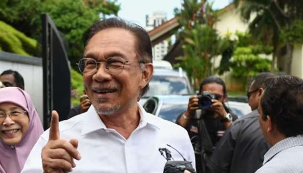 Politician Anwar Ibrahim