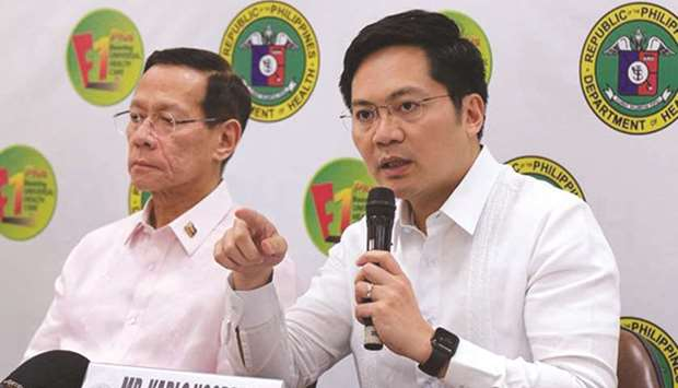 Cabinet Secretary Karlo Nograles explains the government decision to impose a travel ban as Health S