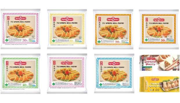 Spring Home pastry products recalled