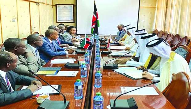 Qatar, Kenya hold political consultations