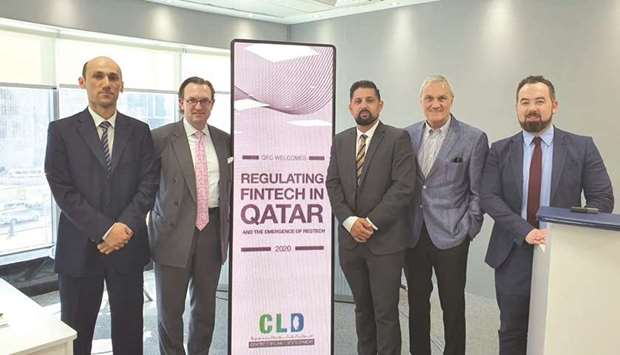 The symposium was co-organised by Qatar University, Qatar Financial Centre and DLA Piper.