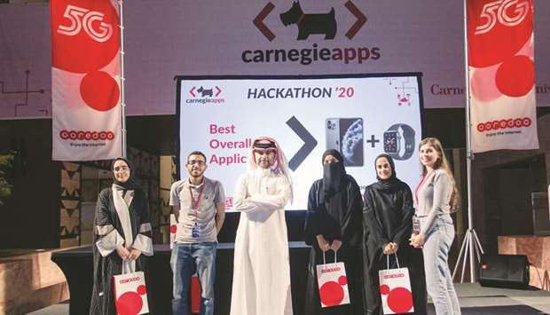 """""""Tapped"""" is the name of the winning app developed by CMU-Q students."""