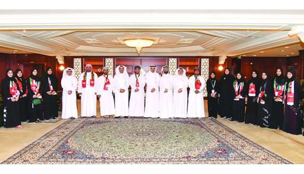 QIIB recently welcomed a group of students from the Omani University of Buraimi