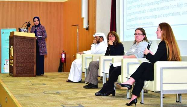 Speakers at the first Student Learning Support Symposium.