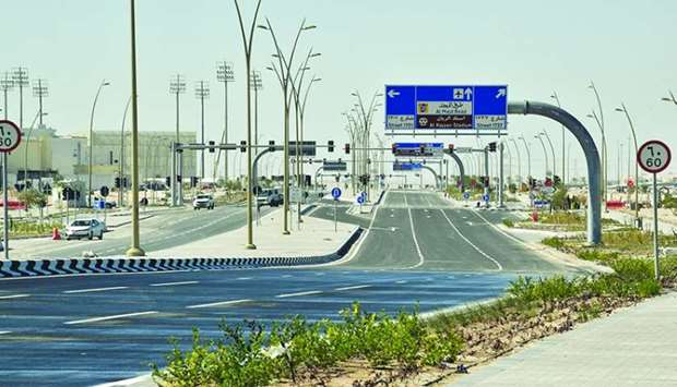 Roads to Al Rayyan stadium