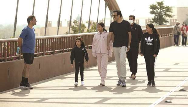 HH Amir and childrens