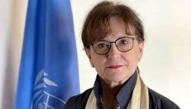 Deborah Lyons, head of UNAMA