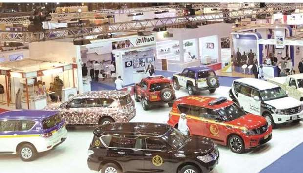 From a previous edition of Milipol Qatar.
