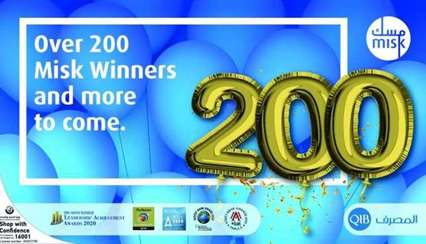 QIB awards more than 200 Misk account holders with cash prizes in fourth edition