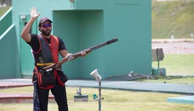 Rashid finished with a score of 41 in the final round, behind first-placed Ukraine's Mikola Milchev