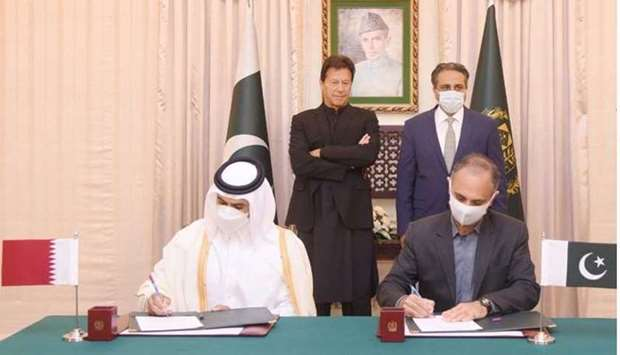 Qatar Petroleum enters into a long-term agreement for the supply of 3 MTPA of LNG to Pakistan