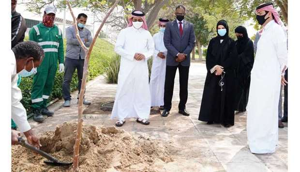 QU marks Qatar National Environment Day 2021