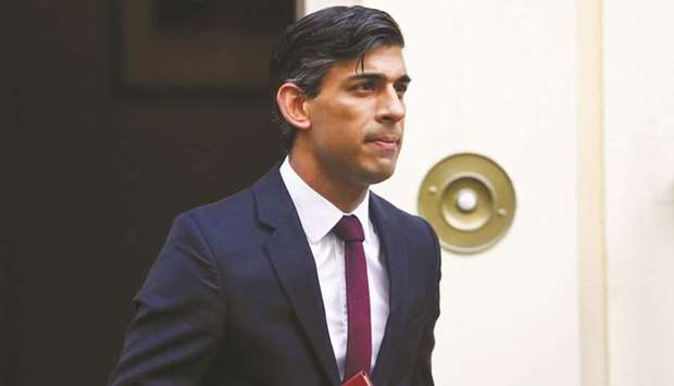 Rishi Sunak, UK chancellor of the exchequer.