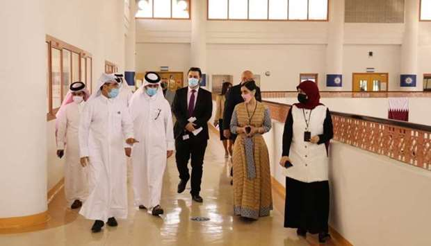 HE the Undersecretary at the Ministry of Education and Higher Education Dr Ibrahim bin Saleh al-Nuai
