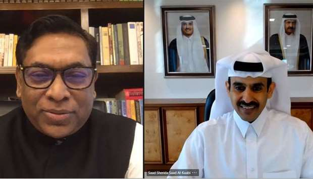 Al-Kaabi discusses cooperation with the Bangladesh state minister