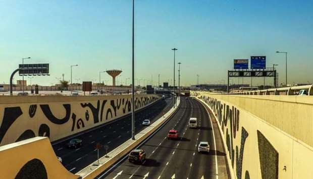 Ashghal has built a network of highways with free traffic flow in order to ensure access to Al Rayya