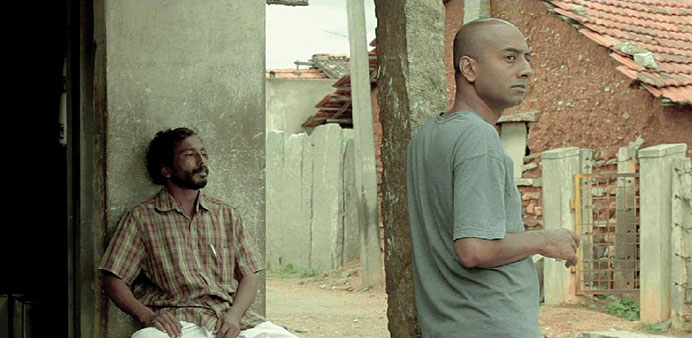 ARTISTIC: A screen grab from the movie.