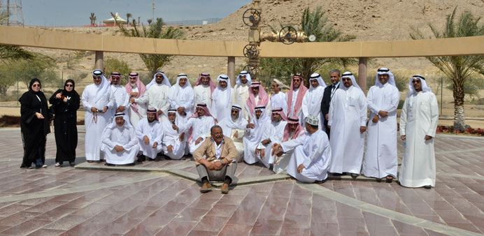 The purpose of the visit was to learn more about the administrative structure of Dukhan Operations a