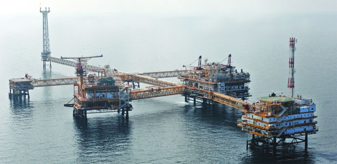 Qatargas offshore complex, 'North Field Bravo'