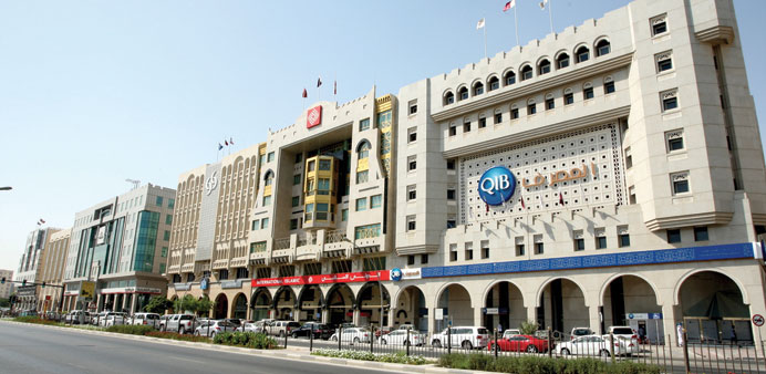Government deposits at Qatari banks more than tripled in the five years ended February 2014 before d