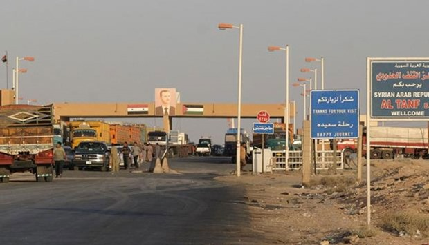 Border point at Al-Tanaf (File picture)