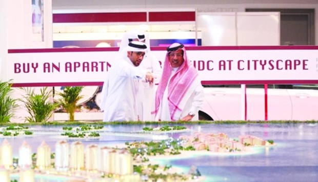 A scene from a previous edition of Cityscape Qatar.