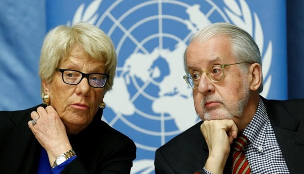 UN panel to share Syrian war crime suspects list