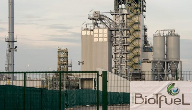 BioTfuel project that will produce second generation biofuel in Mardyck, northern France