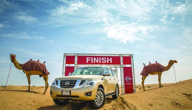 Desert Camel Power will in future be used in all Nissan Middle East showrooms and marketing literatu