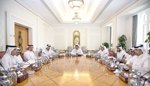 Amir chairs investment council's meeting