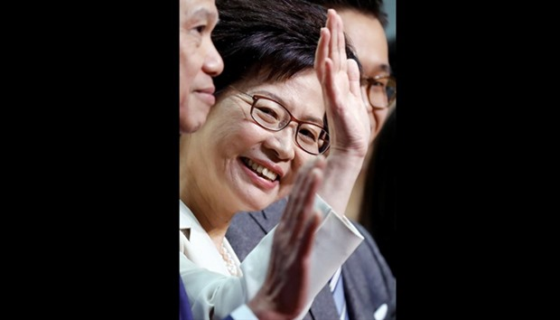 Carrie Lam to be next HK leader