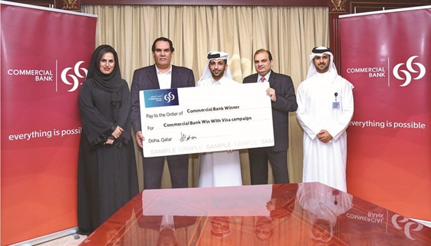 Commercial Bank names final batch of credit card campaign winners