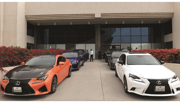 Hybrids lead the charge of new Lexus models