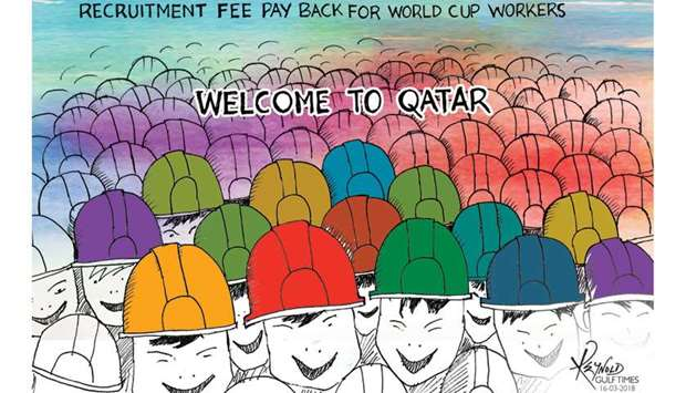 Qatar move to pay back recruitment fees hailed