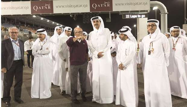 Attendance of Emir a success for Qatar Grand Prix: minister