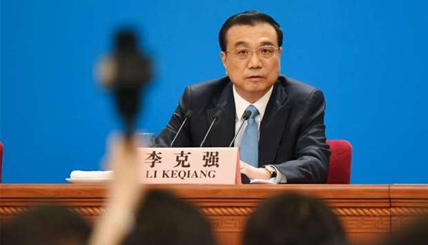 China's Premier Li Keqiang