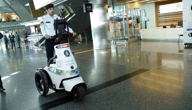 Security robot launched at Hamad International Airport
