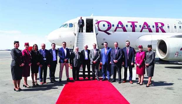 Qatar Airways welcomed to Thessaloniki, Greece