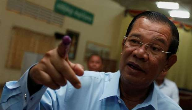 Prime Minister Hun Sen accused US Ambassador to Cambodia of lying, saying aid cuts to Cambodia's tax