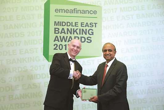 Doha Bank wins 'Best Local Bank in Qatar' award