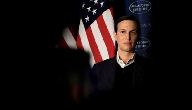 White House senior adviser Jared Kushner delivers remarks at the Saban Forum in Washington, US, Dece