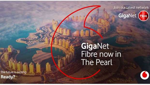 Vodafone wraps GigaNet fibre network rollout at Pearl-Qatar